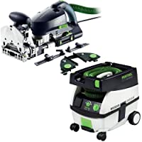 Festool PM574447 Domino XL Joiner Set with CT MINI 2.6 Gallon Mobile Dust Extractor by Festool