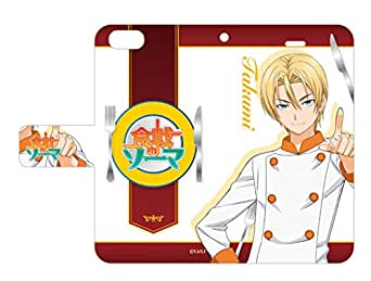 手帳型スマホケースiPhone6専用食戟のソーマ04タクミ・アルディーニ