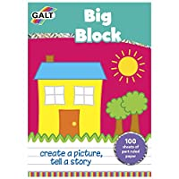 Galt Toys Big Block Sheet Pad (100 pieces)