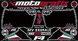 MOTOGRAFIX(モトグラフィックス) ボディーパッド MV AGUSTA BRUTALE(00-) KNEE ブラック MT-KM002U