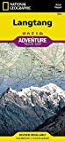 National Geographic Trails Illustrated Adventure Map Langtang: Nepal (National Geographic Adventure Map)