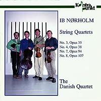 「イブ・ネアホルム (b.1931):弦楽四重奏曲集」 NORHOLM: String Quartets 3 4 7 8