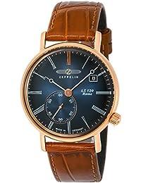 [ツェッペリン]ZEPPELIN 腕時計 LZ120Rome ネイビー文字盤 7137-3 メンズ 【正規輸入品】