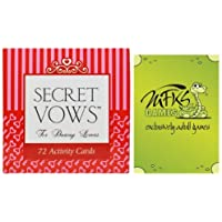 Secret Vows - Adult Card Game For Couples - Bundle - 2 Items by MFKS Games [並行輸入品]