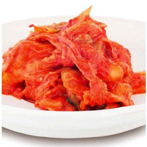 辛口キムチ(1kg)【唐辛子粉・イカ塩辛・白菜】