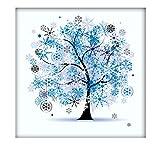 冬、装飾品 プレゼント 客間、部屋、書斎を飾る、作り ダイヤモンド絵画セット ラインストーン 貼れる ホームの装飾