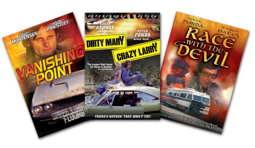 Road Films 3 Pack (Dirty Mary, Crazy Larry / Vanishing Point / Race With The Devil)
