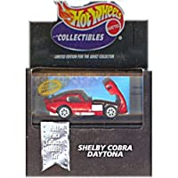 Hot Wheels Collectibles SHELBY COBRA DAYTONA Limited Edition for the Adult Collector 1:64 Scale Diecast Car