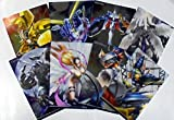 デジモン アドベンチャー スーパーメタリックポスター 全8種フルセット