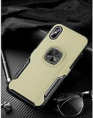 i Phone XRリング式TPUケースゴールド強化ガラス&タッチペン付き362-2-5