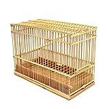 竹製鳥かご (大)