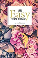 Easy track mileage for small business: Mileage Log Book Gas Mileage Tracker Journal Log Book for Car Notebook Size 5x8 inch