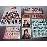AKB48 初期 6点セット CDスカートひらり・クリアファイル・20人分ステッカー(未開封)ピアノアルバム・ブロマイド2枚