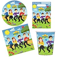 The Wiggles 40 Piece Party Pack for 8