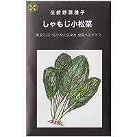しゃもじ小松菜 在来種固定種伝統野菜のタネ