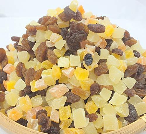 ドライフルーツ 1kg レーズン パイン パパイヤ マンゴー トロピカルフルーツミックス 大容量 業務用 チャック付き袋 4種