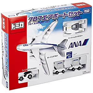 トミカ 787エアポートセット ANA
