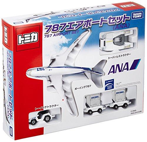 トミカ ギフトセット 787エアポートセット(ANA)