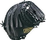 ZETT(ゼット) 野球 軟式 キャッチャー ミット デュアルキャッチ (右投げ用) BRCB34712 ブラック