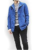 (ルイスシャブロン)LOUIS CHAVLON トレンチコート 麻混 ショートコート スプリングコート ジャケット メンズ[410-4212]