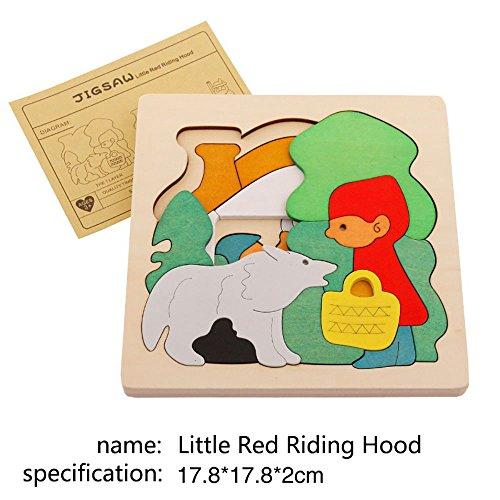 [해외]인기의 나무 퍼즐 공룡 시리즈 아이 끼우 모양 맞추기 장난감 3 세부터 퍼즐 유아 교육 장난감 나무 장난감 | Dingze/Popular wooden puzzle dinosaur series children`s immersion toys toys from 3 years old puzzles early childhood educational...
