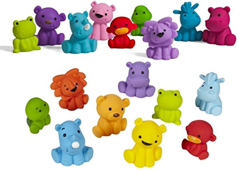 Infantino Tub O Toys Bold & Pastel Set by Infantino