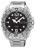 [セイコー] SEIKO 腕時計 5 'Baby Monster' 100M Automatic Black Dial Steel Watch K1 自動巻 & 手巻き式 SRPB33 【並行輸入品】