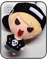 SHINee シャイニー Key キー - Stranger KPOP 手作り縫いぐるみキーチェーン