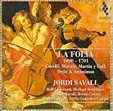 La Folia 1490 - 1701 / Savall