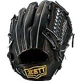 ZETT(ゼット) 軟式グラブファインキャッチIIオールラウンド用 ブラック LH(右投用) BRGB33420