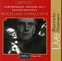Symphony No. 3 by WILHELM FURTW脛NGLER (1996-05-21)