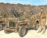 サイバーホビー 1/35 WW.II イギリス陸軍 SAS 1/4トン 4x4 小型軍用車輌