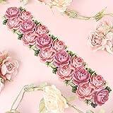 5連ローズ 魔法のフック レッド[薔薇/バラ/ばら/ローズ/rose/母の日/薔薇雑貨/姫系雑貨/薔薇柄]