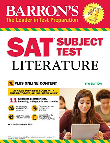 Download Barron's SAT Subject Test Literature with Online Tests 1438009569
