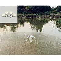 Sunnylife ドローンの水面からランディングのマウント  モーターマウント ペットボトルの接続マウント 水面に浮かぶことを実現  4個セット ホワイト FOR DJI Phantom 2 / DJI Phantom 3