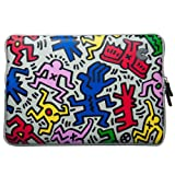 COLORS MacBook 13インチ対応 キース・ヘリング・コレクション Sleeve for MacBook 13インチ Chaos/White SMS-CWT / MSY