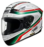 ショーエイ(SHOEI) X-TWELVE LASECA(ラセカ) TC-4(GREEN/WHITE) S (55-56cm)