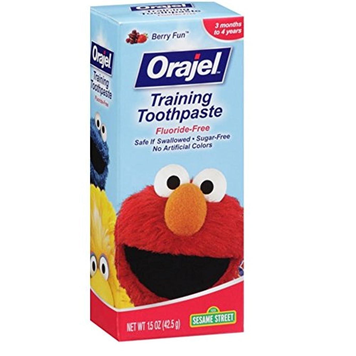 ハイライトはねかける製作Orajel 幼児教育ハミガキベリー楽しい1.50オズ