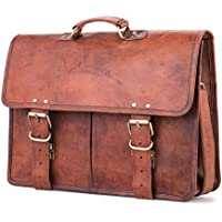 Berliner Bags Amsterdam Leather Messenger Shoulder Bag Briefcase Men Women Retro Brown