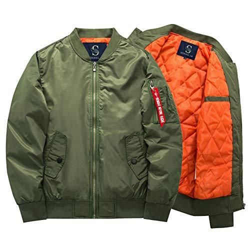 TOK(トック)MA-1 エムエーワンジャケット メンズ ma-1 中綿 ミリタリフライト ジャケット グリーン M