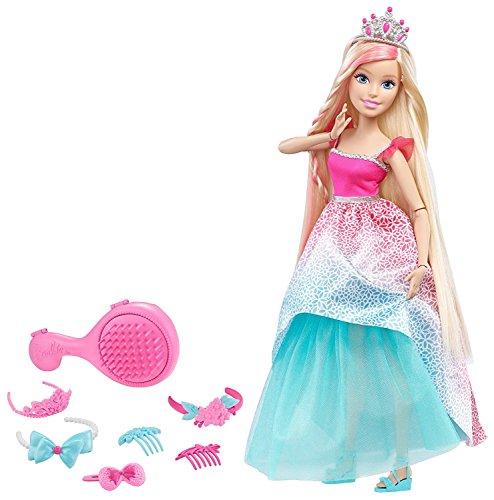 Barbie バービー ドリームトピア エンドレスヘアー キングダム 17インチドール ブロンド Dreamtopia Endless Hair Kingdom 17