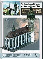 Schreiber-Bogen Modèles avec du Carton, L'église du Château Wittenberg