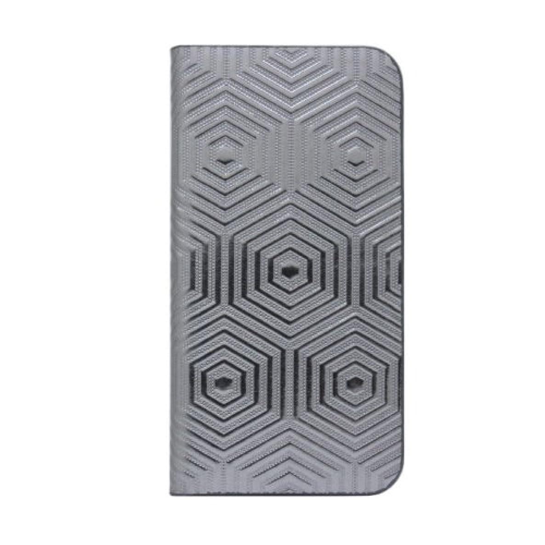 たまにパパアコー【日本正規代理店品】SLG Design iPhone SE/5s/5 ケース D4 Metal Leather Diary クローム 手帳型 SD3253i5S