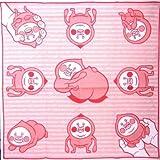 <キャラクター・ランチクロス>こびとづかん(カクレモモジリ3・ピンク)【キャラクター】【ランチョンマット】 【給食ナフキン】【ランチクロス】【キッズ】