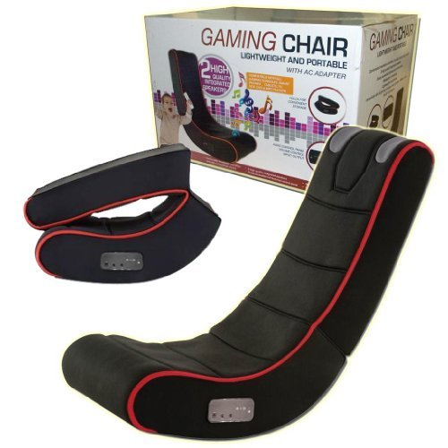 PLAYSTATION IPAD GAMING CHAIR ADULTS KIDS CYBER ROCKER PLAY MUSIC IPHONE TABLET by Guaranteed4Less [並行輸入品]
