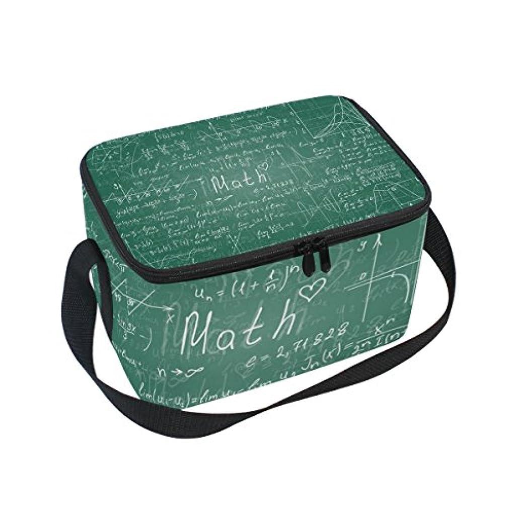 貫入マラウイはげクーラーバッグ クーラーボックス ソフトクーラ 冷蔵ボックス キャンプ用品 数学 方程式 プリント 保冷保温 大容量 肩掛け お花見 アウトドア