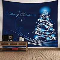 クリスマス掛け布団タペストリーテレビの背景壁の壁アートの壁の装飾3Dデジタル印刷壁の壁画壁の寝室居間児童の部屋タペストリーピクニックブランケット (Color : 003)