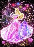 266ピース ジグソーパズル 眠れる森の美女 恋する心の煌めき(オーロラ) ぎゅっとシリーズ 【ステンドアート】 (18.2x25.7cm)