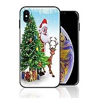 iPhone 6/6s 携帯カバー サンタクロース 鹿 プレゼント カバー TPU 薄型ケース 防塵 保護カバー 携帯ケース アイフォンケース 対応 ソフト 衝撃吸収 アイフォン スマートフォンケース 耐久
