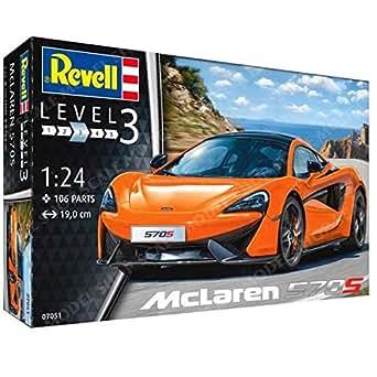 ドイツレベル 1/24 マクラーレン 570S プラモデル 07051